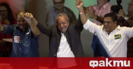 Левият бивш държавен глава на Бразилия Луис Инасио Лула да