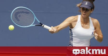 Цветана Пиронкова загуби от спечелилата 23 титли от Големия шлем