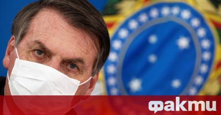 Бразилският президент Жаир Болсонаро е дал положителна проба за коронавирус,