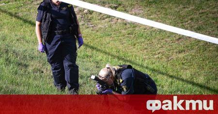 Мъж беше застрелян от шведската полиция, след като заплашил служителите