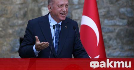 Държавният глава на Турция Реджеп Ердоган е настоял да се