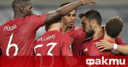Манчестър Юнайтед победи Копенхаген с минималното 1:0 в мач от