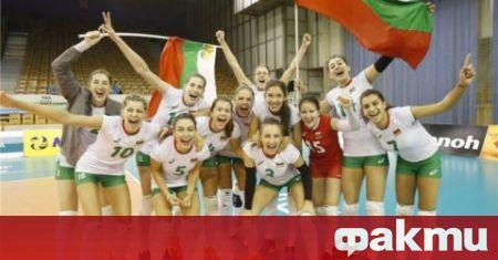 Женският национален отбор по волейбол на България разби домакина Украйна