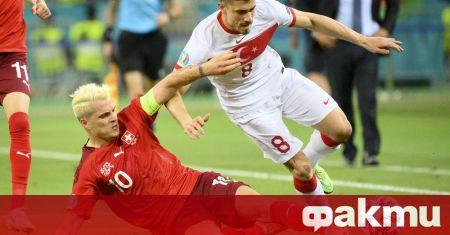Швейцария победи Турция с 3:1 в последен мач от група