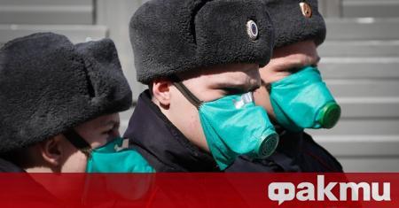 Днес Русия съобщи за нов рекорден брой нови случаи на