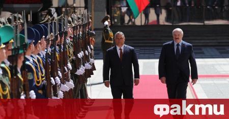 Унгарският премиер Виктор Орбан призова Европейския съюз да свали санкциите