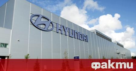 Корейският концерн Hyundai Motor обяви, че започва строителството на завод