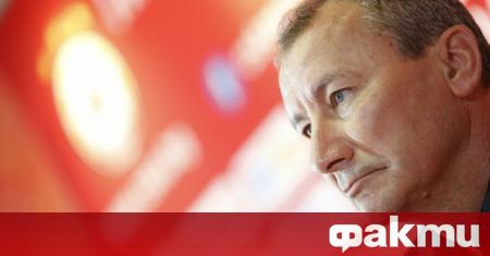 Треньорът на ЦСКА Стамен Белчев даде пресконференция преди мача от