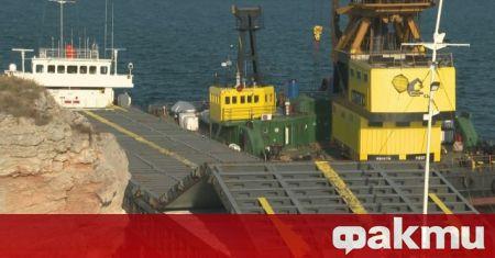 Има индикации за замърсяване на водата около заседналия кораб Vera