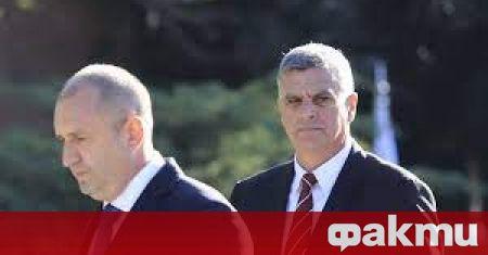Президентът Румен Радев представя официално днес служебния кабинет, който излъчи