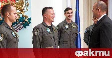 На 12 април президентът Румен Радев ще посети Висшето военновъздушно