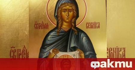 Православната църква почита днес света Вероника- момичето попило кръвта от