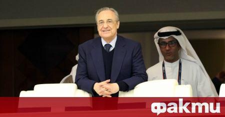 Президентът на Реал Мадрид Флорентино Перес вече е решил кой