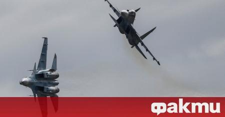 Руски военни самолети извършиха първи удари от три месеца насам