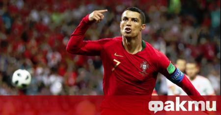 Kапитанът на европейския шампион Португалия Кристиано Роналдо отбеляза 4-годишнината от