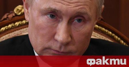 Руският президент Владимир Путин отвърна на удара, след като американският