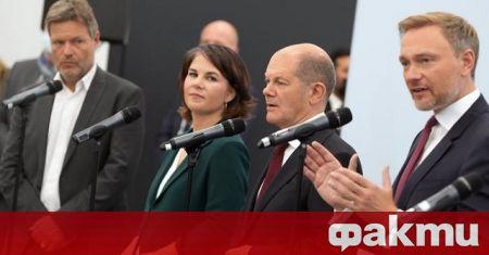 Социалдемократи, зелени и либерали - тези три политически сили най-вероятно