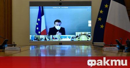 Френският президент Еманюел Макрон вече нямасимптоми на коронавирус и ще