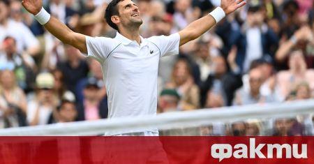 Световният номер 1 в мъжкия тенис Новак Джокович може да