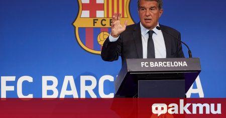 Президентът на Барселона Жоан Лапорта използва профила си в Туитър,