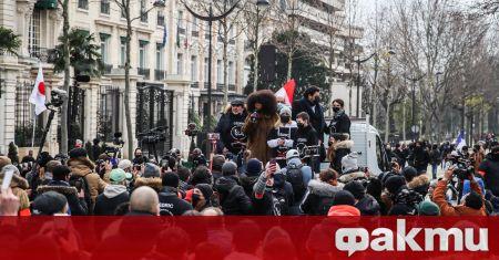 Хиляди излязоха на протест във Франция, съобщи France 24. Демонстрацията