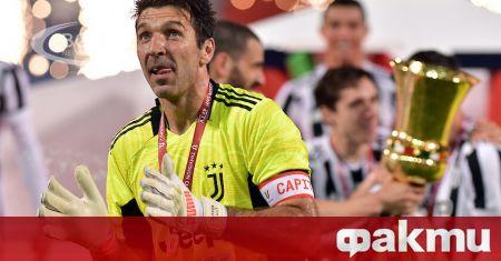 Легендарният италиански вратар Джанлуиджи Буфон официално се завърна в Парма