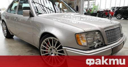 Немският дилър на класически автомобили Biposto пусна за продажба Mercedes-Benz