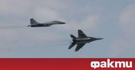Шест американски самолета Ф-16 са пристигнали този следобед в България