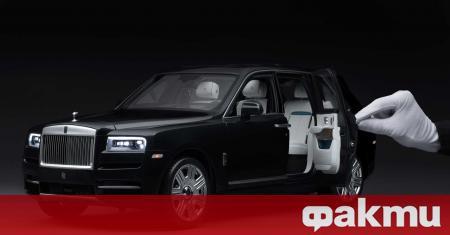 В Калифорния нов Rolls-Royce Cullinan беше обявен за продажба за