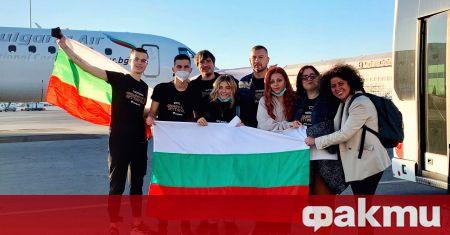Виктория и българската делегация на Евровизия пристигнаха вчера в Ротердам,