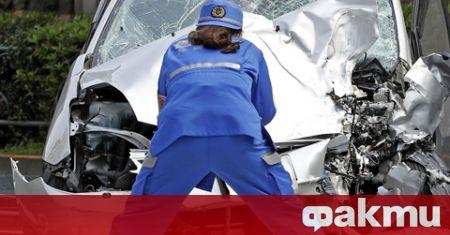 През 2020 г. при пътнотранспортни произшествия в Япония са загинали