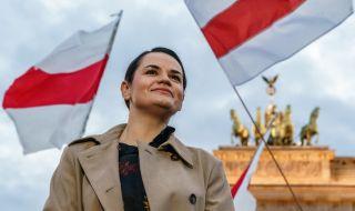 Тихановска обеща да преразгледа договореностите с Русия