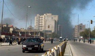 Ракетен удар в сърцето на Багдад