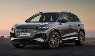 Audi представи електрическото Q4 с различен дизайн и нова платформа