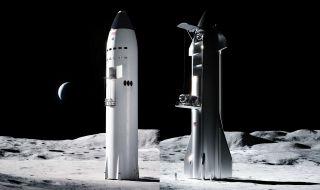 SpaceX показа концепцията за лунен асансьор