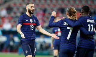 UEFA EURO 2020: Франция взе първия си тест на Евро 2020