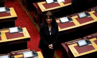 Новият президент на Гърция встъпи на поста