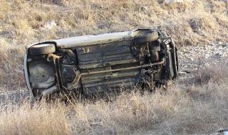 Мъж от село Микре загина, преобръщайки се с лек автомобил