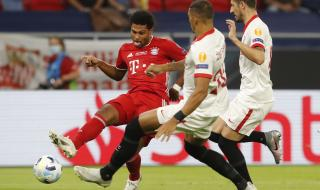 Гнабри ще е на линия за Байерн Мюнхен в Шампионска лига