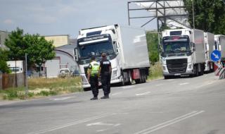 Край Велико Търново арестуваха украински тираджия с над 3 промила алкохол в кръвта