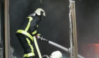 40-годишен мъж загина при пожар на жп гарата в Червен бряг