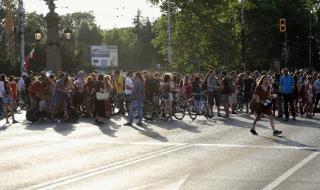 Екоактивисти отново протестираха в София