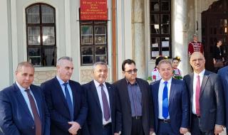 Депутатите от НФСБ дариха апарат за обдишване