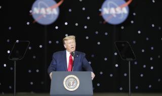 Тръмп: Аз върнах НАСА