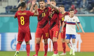 Белгия постигна класическа победа над Русия