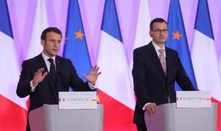Макрон иска по-близки отношения с Полша