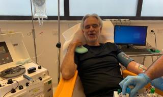 Андреа Бочели се разболял от коронавирус