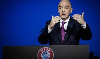 Президентът на ФИФА изпрати своите съболезнования за Джеки