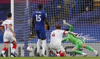 Челси с нова трагикомедия в защита за 3:3 със Саутхемптън (ВИДЕО)