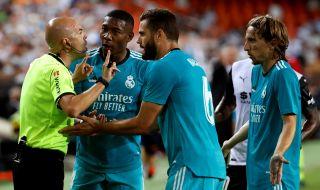 """Реал Мадрид поведе в Ла Лига след обрат срещу Валенсия на """"Местай"""" - 1"""